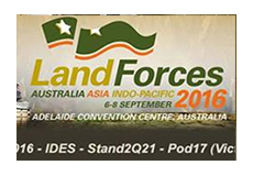 IDES is exhibiting at Land Forces 2016 in Adelaide South Australia.