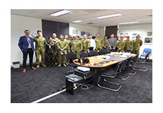IDES recently hosted the graduating class from Defence Capability and Technology Management College (CTMC).