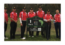 As part of its involvement with the wider Defence community, IDES sponsored the Victorian Army Golf Team at a recent tournament held at the Sanctuary Lakes Golf Club.