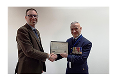 "IDES delivery of multiple Defence projects was recognised by an award ""For Outstanding Contribution to Australian Electronic Warfare""  by the Australian chapter of the AOC."